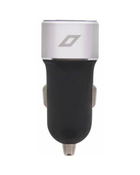 Dual USB Car Charger - 4,8A - Zwart - Zwart / Black