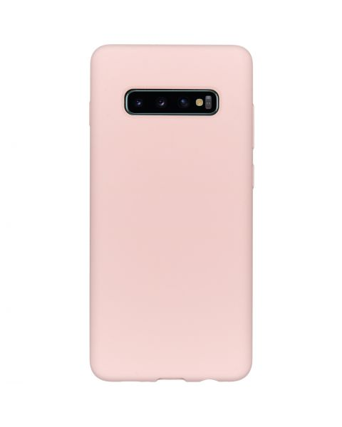 Liquid Silicone Backcover Samsung Galaxy S10 Plus - Roze - Roze / Pink
