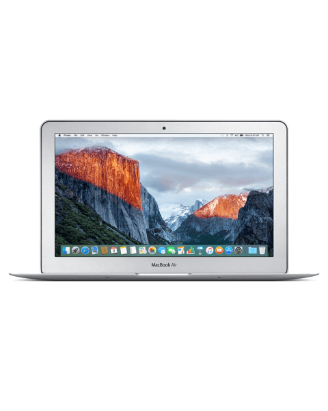 MacBook Air 11-inch Core i5 1.6 GHz 256 GB SSD 4 GB RAM Zilver (Early 2015)