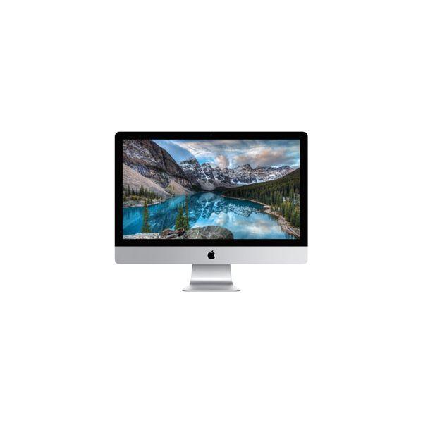 iMac 27-inch Core i7 4.0GHz 256GB HDD 8GB RAM Silver (5K, Late 2015)