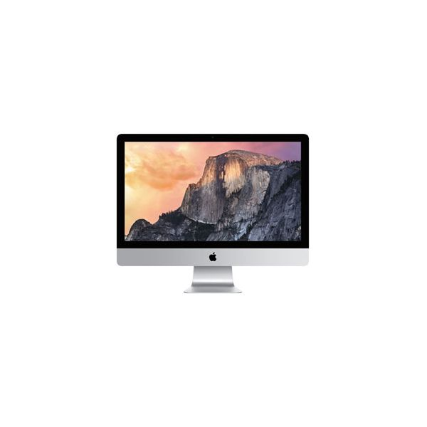 iMac 27-inch Core i7 4.0GHz 512GB HDD 8GB RAM Silver (5K, Late 2014)
