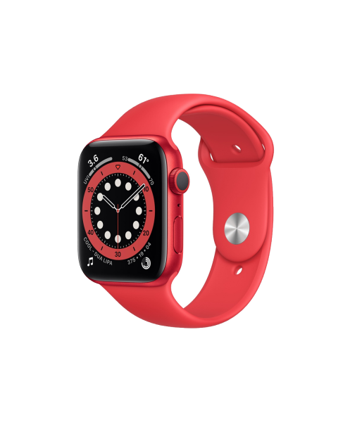 Refurbished Apple Watch Series 6 40mm | Aluminum Case Red | red sport band