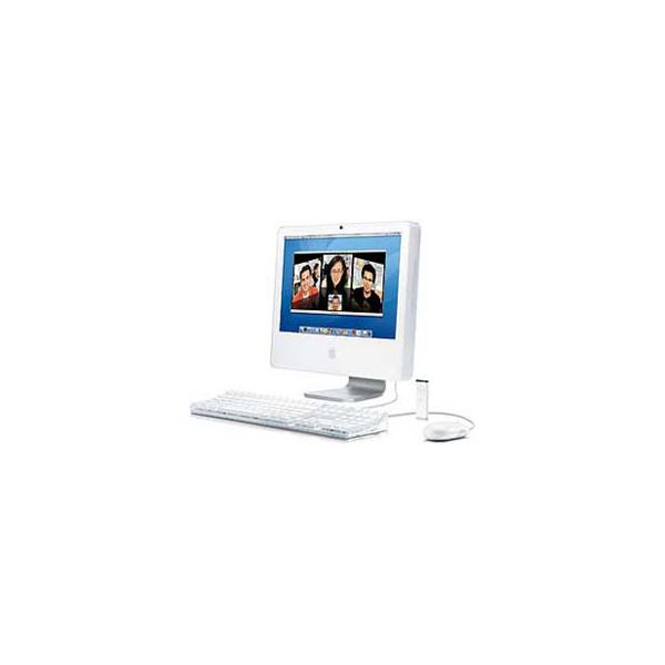 iMac 17-inch Core 2 Duo 1.83GHz 160GB HDD 512MB RAM Silver (Late 2006 CD)