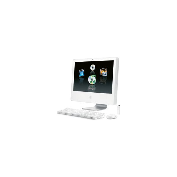 iMac 24-inch Core 2 Duo 2.33GHz 250GB HDD 1GB RAM Silver (Late 2006 24