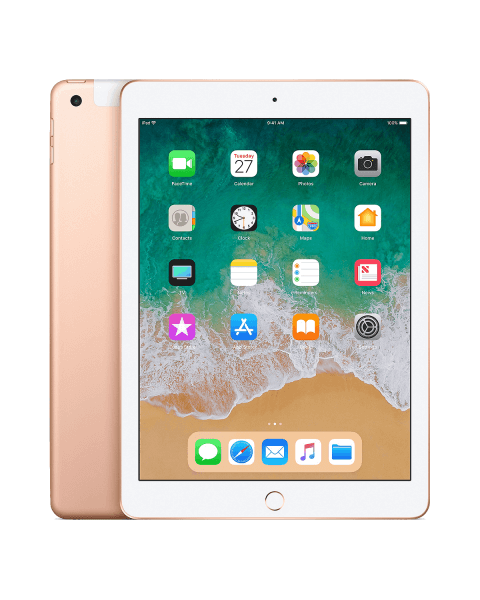 Refurbished iPad 2018 32GB Wi-Fi + 4G gold