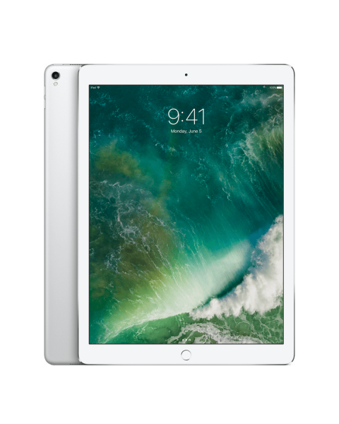 Refurbished iPad Pro 12.9 256GB WiFi + 4G Silver (2017)   Without cable and charger