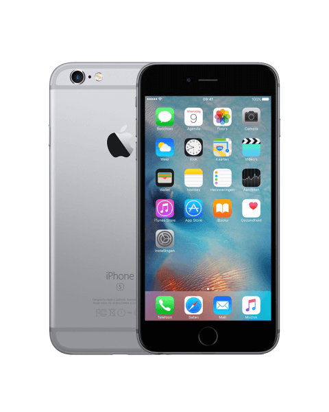 Refurbished iPhone 6S Plus 64GB black/space grey
