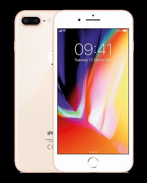 Refurbished iPhone 8 plus 64GB gold