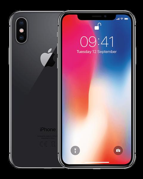 Refurbished iPhone X 64GB space grey