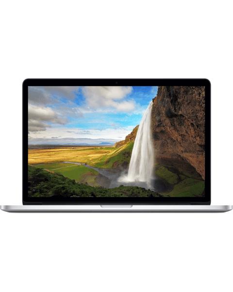 MacBook Pro 15-inch   Core i7 2.2GHz   256GB SSD   16GB RAM   Silver (Mid 2015)   retina