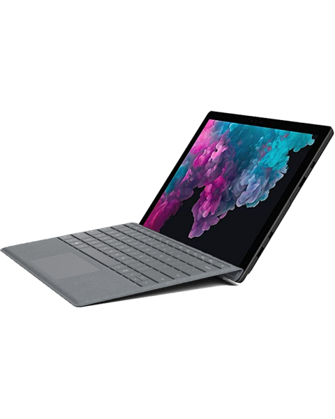 Refurbished Micosoft Surface Pro 5   12.3 inch   7e generatie i5   256GB SSD   16GB RAM   Grey QWERTY keyboard   Pen not included