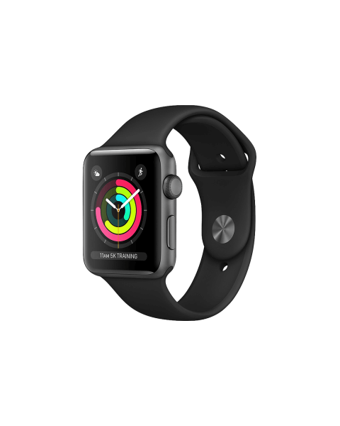 Refurbished Apple Watch Series 3 42mm GPS Aluminum Case Grey