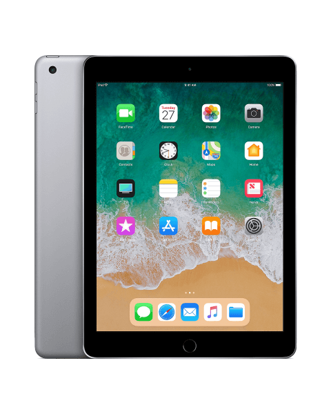 Refurbished iPad 2018 128GB Wi-Fi Black/Space Grey