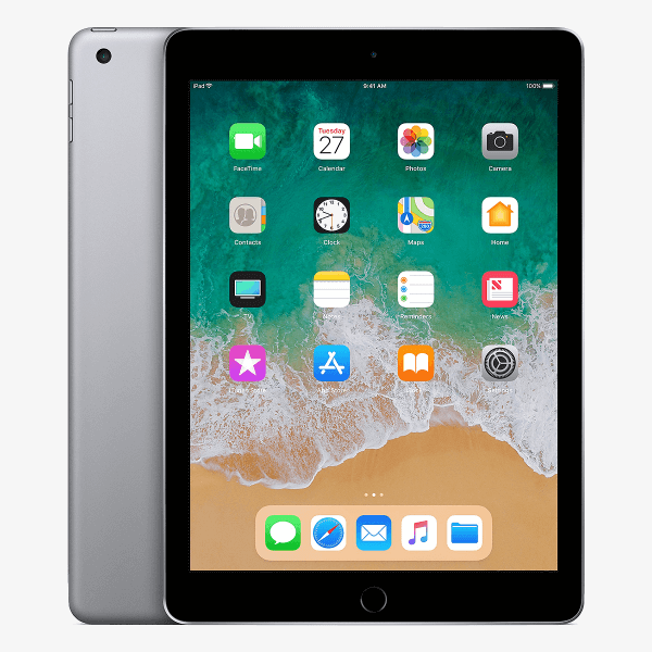 Refurbished iPad 2018 32GB Wi-Fi Black/Space Grey