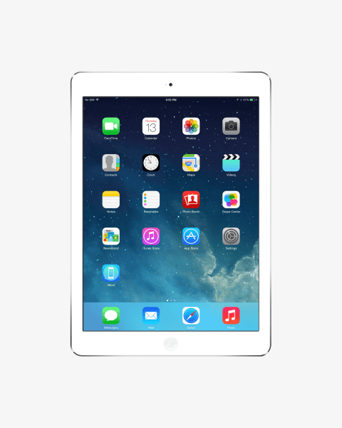 Refurbished iPad Air 1 64GB Wi-Fi + 4G silver