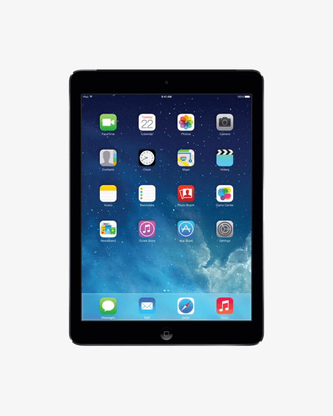 Refurbished iPad Air 1 64GB Wi-Fi black/space grey