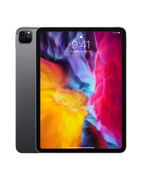 Refurbished iPad Pro 11-inch 256GB WiFi Space Gray (2020)   Excluding cable and charger