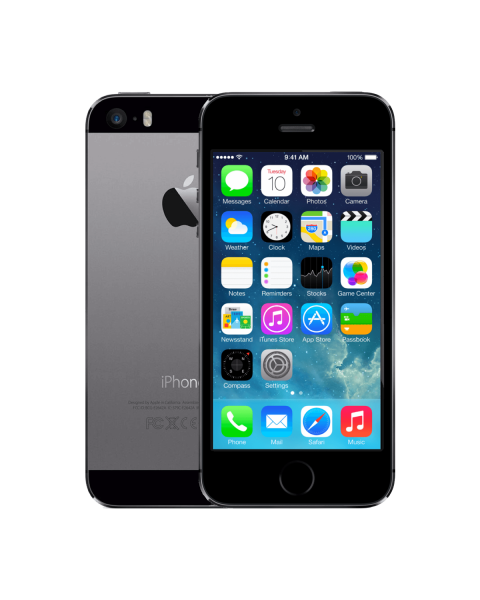 Refurbished iPhone 5S 16GB black/space grey