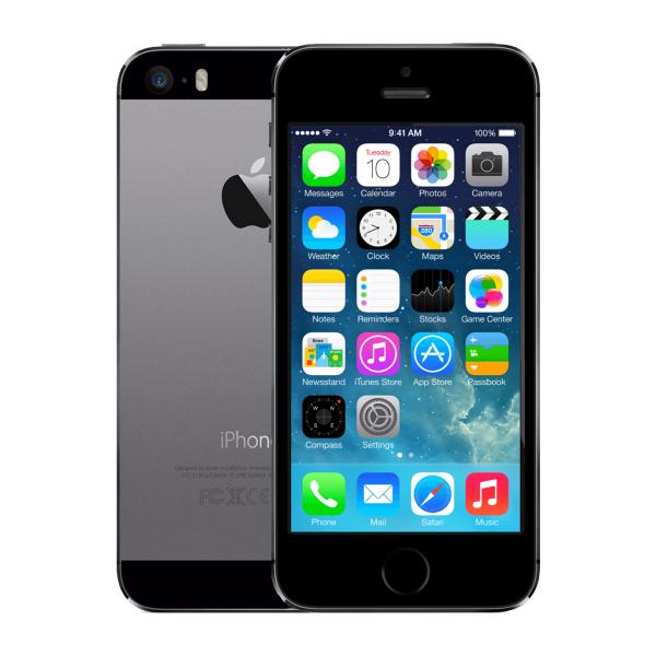 Refurbished iPhone 5S 32GB black/space grey