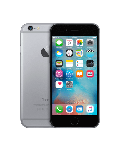 Refurbished iPhone 6 32GB black/space grey