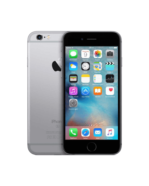 Refurbished iPhone 6S 128GB black/space grey