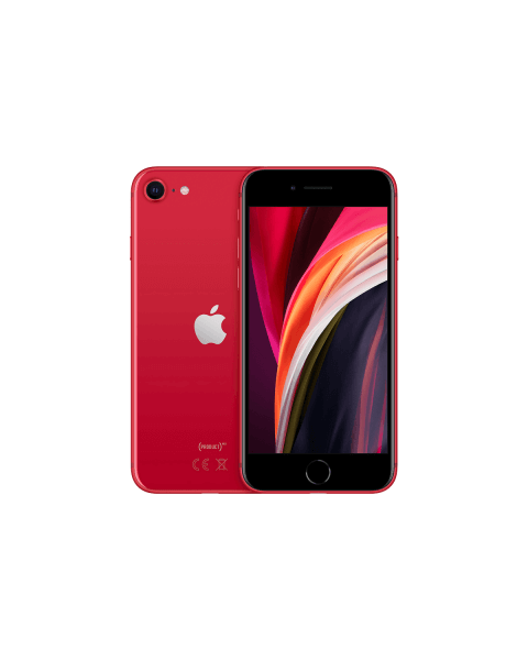 Refurbished iPhone SE 64GB rood (2020)