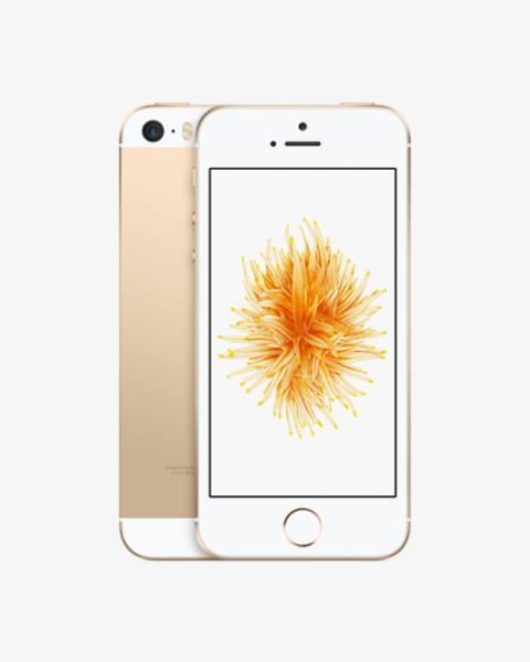 Refurbished iPhone SE 16GB gold
