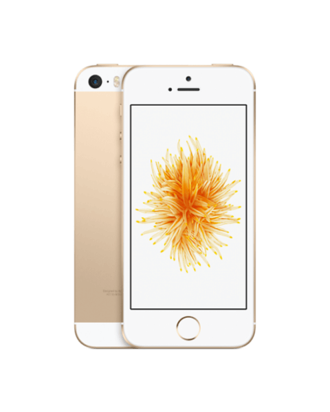 Refurbished iPhone SE 64GB gold