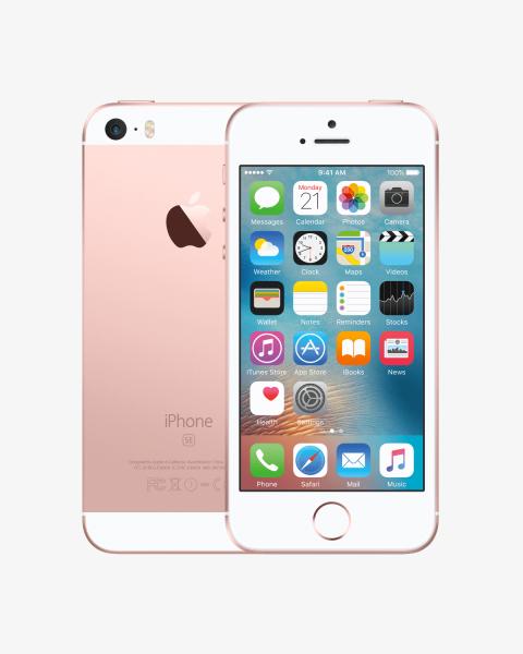Refurbished iPhone SE 64GB rosegold