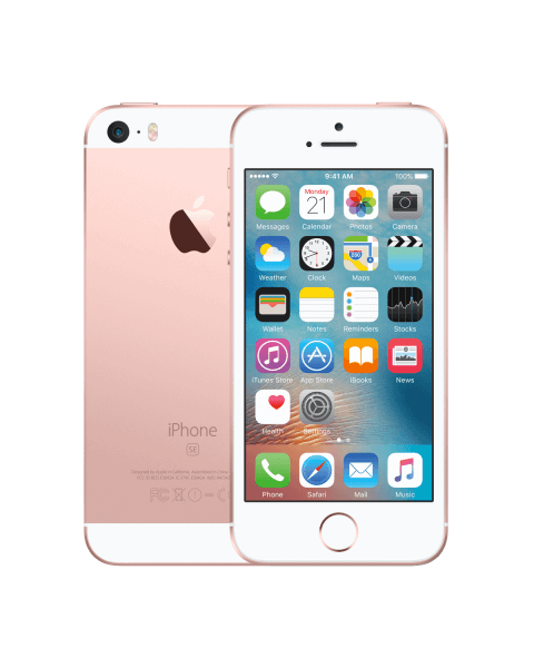 Refurbished iPhone SE 64GB rose gold